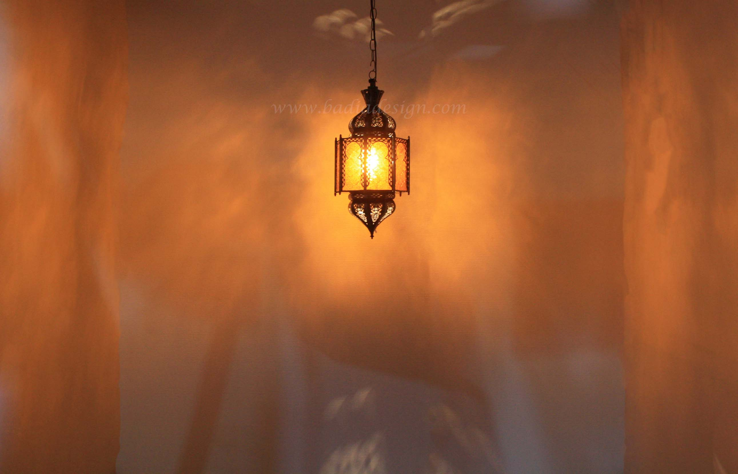 moroccan-hanging-lantern-with-amber-color-glass-lig287-1.jpg
